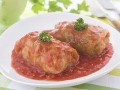This recipe for Polish stuffed cabbage or gołąbki are filled with ground pork and beef, cooked rice and garlic and cooked in beef broth. Cabbage Rolls Recipe, Cabbage Recipes, Polish Stuffed Cabbage, Jewish Stuffed Cabbage Recipe, Lithuanian Recipes, Croatian Recipes, German Recipes, Hungarian Recipes, Beef And Rice