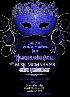 party invitation rsvp silver black masquerade party invitations