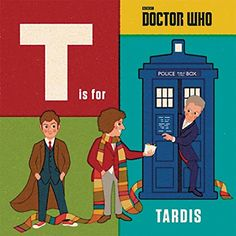 *Featuring Doctors, companions and monsters both past and present, kids of all ages will love this #DoctorWho alphabet book.*  Preorder now !