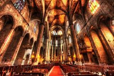The Prismatic #Cathedral in #Barcelona. from #treyratcliff at http://www.StuckInCustoms.com - all images Creative Commons Noncommercial