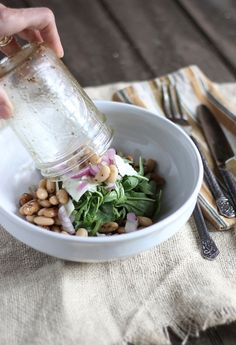 Salads In Jars- Super Idea If You Have Jarred Salads In Your Fridge - Click for More...