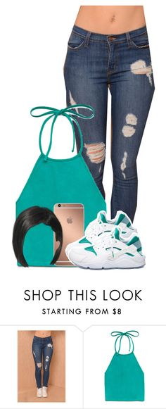 """""""Untitled #2587"""" by alisha-caprise ❤ liked on Polyvore featuring Forever 21, Mura and NIKE"""