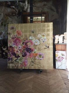 PEINTURES | Claire BASLER I love the background