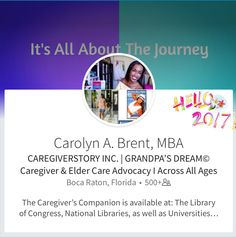 Knowledge Is Power✨🌎 Across All Ages✨ Taking Care Of Yourself And Your Loved One.. Medically, Financially, and Emotionally... Click To Learn More🎯📚 It's ALL About Life's Journey 🌎Across ALL Ages✨Visit: The Book Club 💫CareGiverStory.com