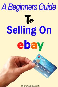 Making Money On Ebay, Make Money Online, Garage Sale Organization, Ebay Selling Tips, Selling Online, Advertise Your Business, Online Business, Work From Home Jobs, Marketing Tools