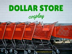 Cosplay from the dollar store? You might be surprised! #cosplay #cosplayonabudget
