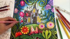 THE MAGIC LAND | Romantic Country The Second Tale Coloring Book | Colori...