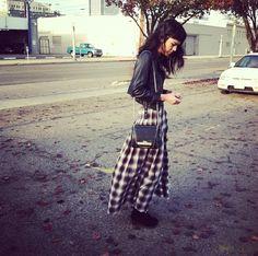 Cool grunge skirt