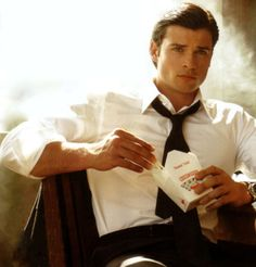 Tom Welling- I am going to red 50 shades of gray and despite the characters actual description, I am going to picture him.