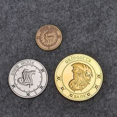 Harry Potter Gringotts Bank Coin Collection 1 Galleon,1 Sickle,1 ...