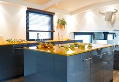 Cuisine Innovation | Ilot Kitchen Cuisine Innovation Materiau Exclusif Plan De