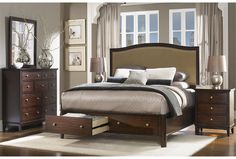 New Haven California King Storage Bed