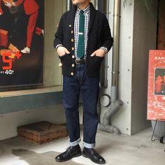 2016 Fall&Winter Plus Style  #beams #beamsplus #beamsplusharajuku #beamsstaffstyling #inverallan #handknitting #tiedup #alden #longwing #mensfashion #mensstyle #menswear