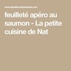 feuilleté apéro au saumon - La petite cuisine de Nat