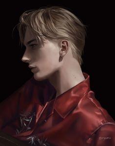 Handsome Anime Guys, Hot Anime Guys, Anime Sexy, Character Portraits, Character Art, Fantasy Art Men, Digital Portrait, Boy Art, Character Design Inspiration