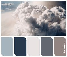 Beautiful blue/gray for the kitchen. Dark grey for bathroom? Like gray for living room?