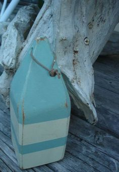 Vintage style Wooden Lobster Buoy by nauticalcargo on Etsy, $12.00