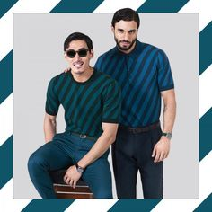 Read all about the stripes knitwear trend for men this Summer 2016 on the…