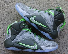 "These Shots Of The Nike Lebron 12 ""Dunkman"" Are Looking Real Nice 