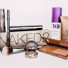 A few of our office obsessions. What are your UD go-to's? Naked Palette, Makeup Setting Spray, Beauty Make Up, Urban Decay, Beauty Hacks, Cosmetics, Instagram Posts, How To Make, Closer