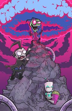 It's Invading Time, come on grab your minions, we're conquering a very distant land. With GIR the Robot, and Zim the Irken, the doom will never end, it's invading time!