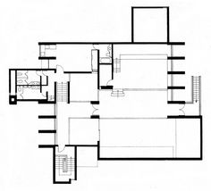 Christian Science Building - Second Floor Plan by kelviin, via Flickr