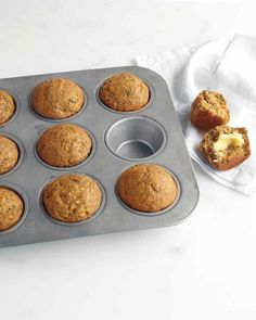 25. Zucchini, Banana, and Flaxseed Muffins #healthy #breakfast #recipes http://greatist.com/health/healthy-fast-breakfast-recipes