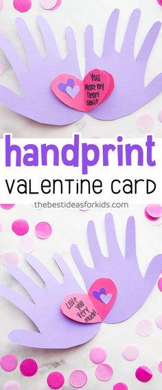 652 best valentines day for kids images on pinterest in 2018 handprint valentine craft m4hsunfo
