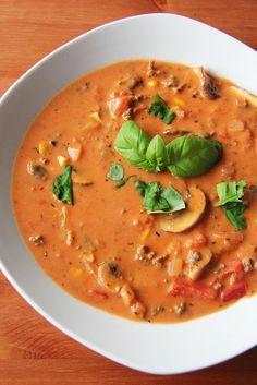 Pizzasuppe - so wie ich sie mag - Ninni bloggtNinni bloggt