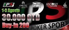 L'Italian Poker Sport sbarca al Casinò Perla di Nova Gorica dal primo agosto