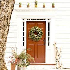 Cómo decorar puertas de Navidad ¡para que Papá Noel no se pierda! - Contenido seleccionado con la ayuda de http://r4s.to/r4s