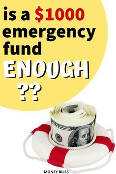 Is your savings plan on track? Do you have enough saved in your emergency fund? Does Dave Ramsey tell you the right amount for emergencies? Learn how to build an emergency fund. Here is a hint. 1000 dollars may not be enough. Savings Challenge, Money Saving Challenge, Savings Plan, Money Saving Tips, How To Be Rich, How To Become, Become A Millionaire, Money Today, Dave Ramsey