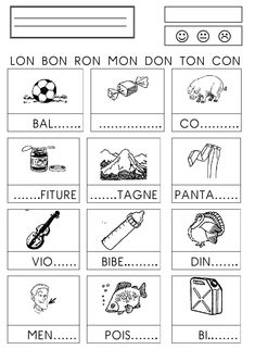 French Teaching Resources, Teaching Activities, Teaching French, French Worksheets, Printable Math Worksheets, Maternelle Grande Section, French Course, French Language Lessons, French Kids