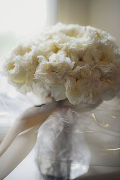 feather-like bouquet