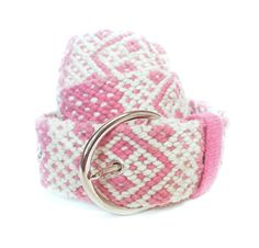 Hand Braided Wool Belt by KaniArts on Etsy Cotton Candy