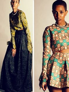 Amina Muses new collection Yanghi a stunning selection of printed and beaded garments.