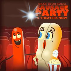 New trendy GIF/ Giphy. sausage party sausage party movie. Let like/ repin/ follow @cutephonecases