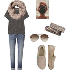 This cute & comfy outfit is perfect with the cozy Sanuk KimBrrr sidewalk surfers. Casual Outfits For Teens, Cute Comfy Outfits, Casual Winter Outfits, Sanuk Shoes, Everyday Outfits, Types Of Fashion Styles, Chic, Style Me, Fashion Outfits
