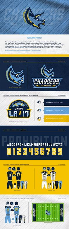 Los Angeles Chargers Rebrand Project Sports Decals, Sports Logos, Moving To Los Angeles, Best Logo Design, Animal Logo, Cool Logo, Logo Inspiration, Gd, Cool Things To Make