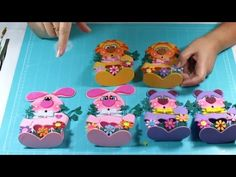 DIY Ideas para regalar a Niños Dulceros en Fomi, Goma Eva, Microporoso, Easy Crafts - YouTube