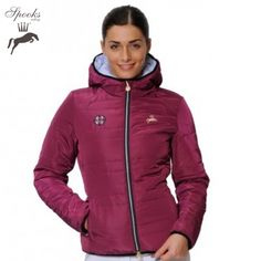 Spooks Lola Jacket, £99. We love this stylish lightly padded jacket in this gorgeous violet colour. #equestrian #style