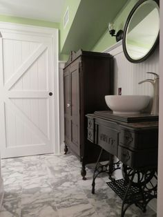 Why Did The Writer Enjoy Living In A Basement : bathroom sink idea ♪ ♪ ... #inspiration #diy GB http://www ...