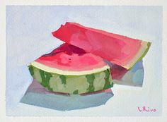Lena Rivo's Painting Blog: Juicy Slices