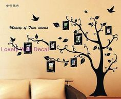 LOVE LOVE LOVE TreeVinyl Wall Decal Vinyl Wall Art Stickers by LovelyWallDecal, $66.00