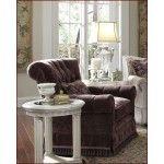 $1,199.00 AICO Furniture - Tufted Swivel Chair Monte Carlo II - AI-53839-PURPL-00
