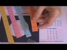 Iris Paper Piecing Tutorial - YouTube