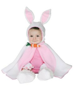 Bunny Baby Bunting Halloween Costume $12.86 #Easter #Bunny http://www.halloweencostumes4u.com/prods/rub11742.html