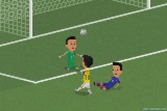 James Rodriguez with a lovely chip and it was sayonara Japan.