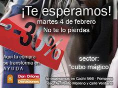 """Cachi 566 esq. Av. Perito Moreno - Pompeya - CABA (Buenos Aires - Argentina) de Lu. a Vi. de 9 a 12 y de 13:30 a 17hs. Te esperamos el 4 de febrero! (En el """"Cubo Mágico"""")"""