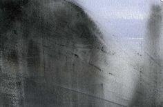 GRISAZUR: Acuarela sobre papel, 12x18 cm.Feb. 4, 2016